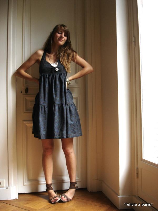 robe elodie f licie paris. Black Bedroom Furniture Sets. Home Design Ideas
