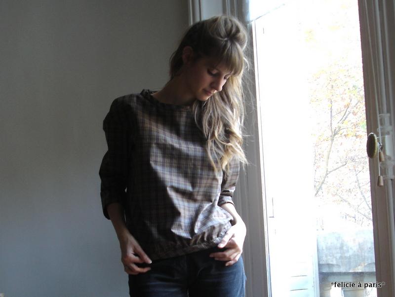 blouse christine f licie paris. Black Bedroom Furniture Sets. Home Design Ideas