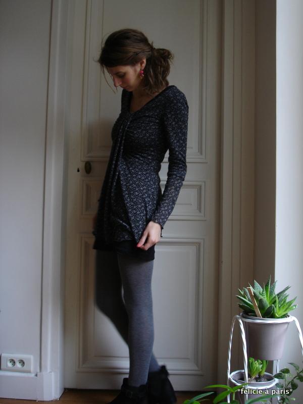 tunique charlotte f licie paris. Black Bedroom Furniture Sets. Home Design Ideas