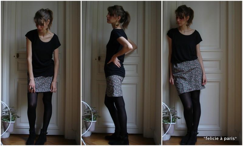 comment coudre une jupe avec elastique