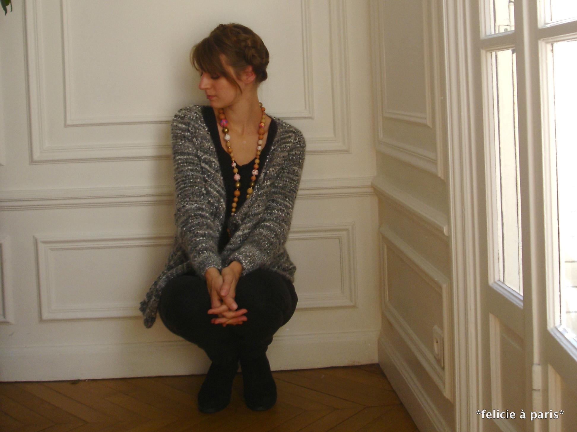 gilet à pans basculés   Félicie à Paris b919f362d8a2
