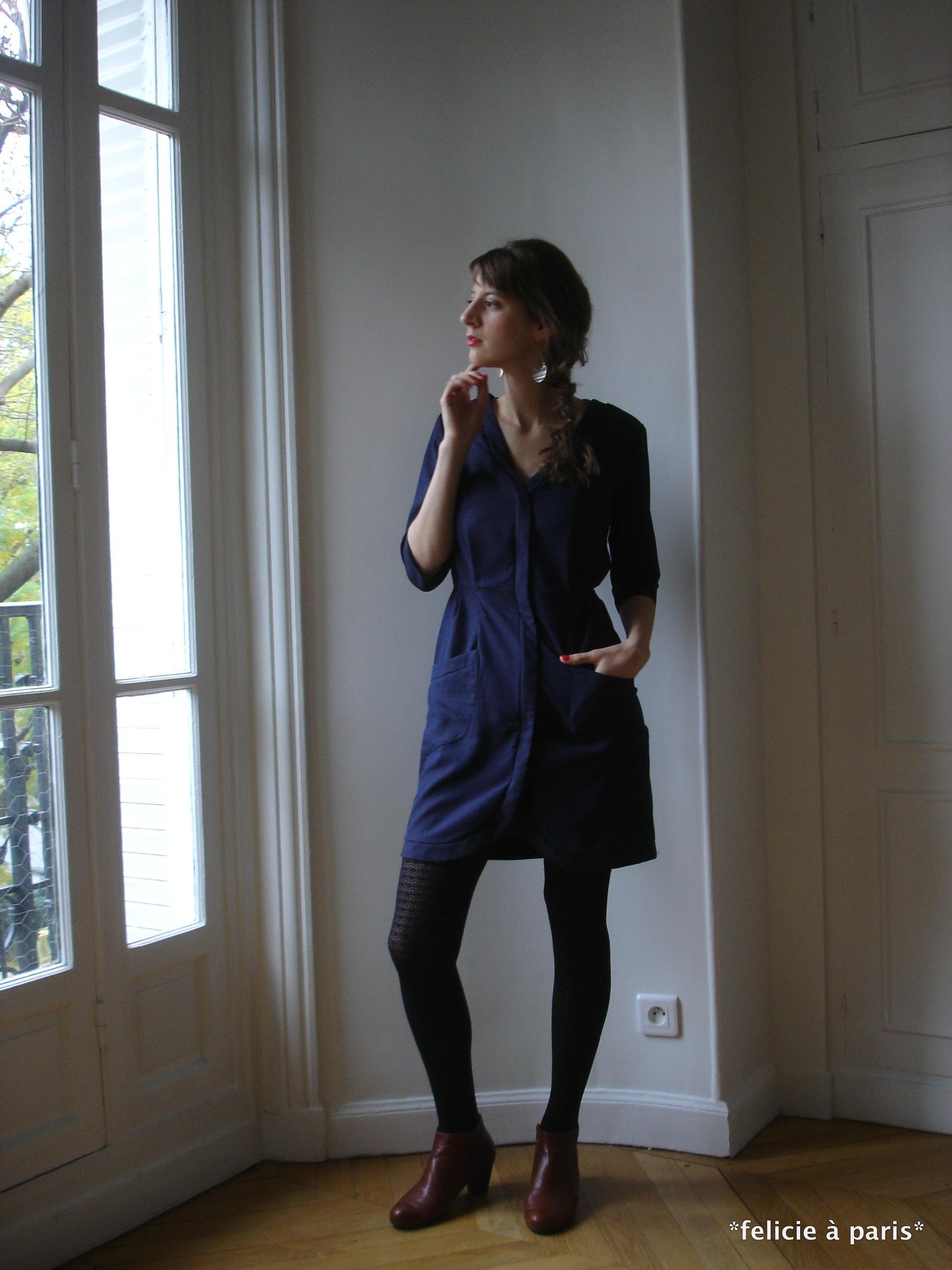 robe eve f licie paris. Black Bedroom Furniture Sets. Home Design Ideas