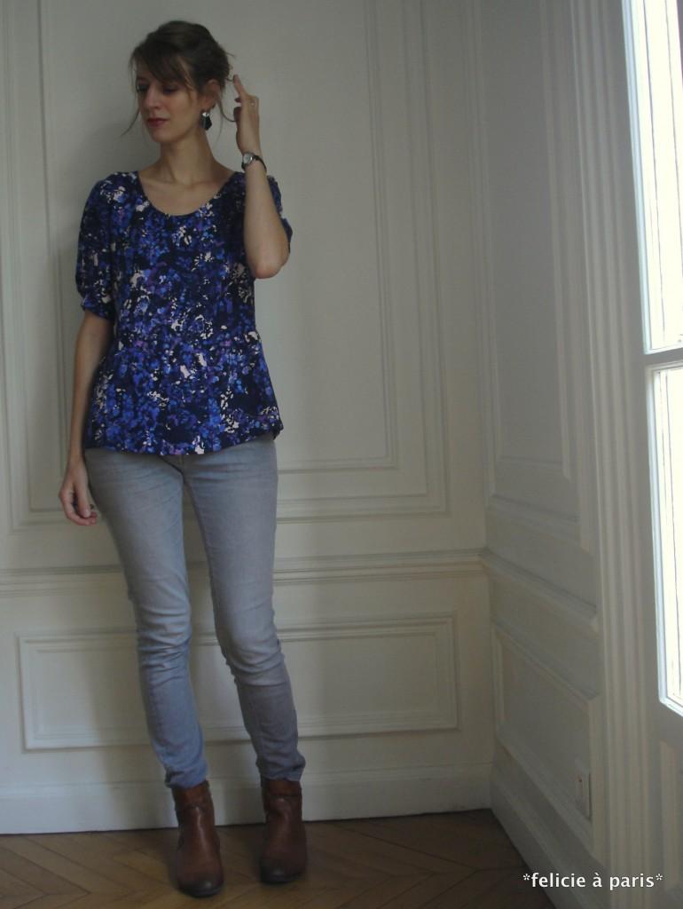 blouse vagabonde f licie paris. Black Bedroom Furniture Sets. Home Design Ideas
